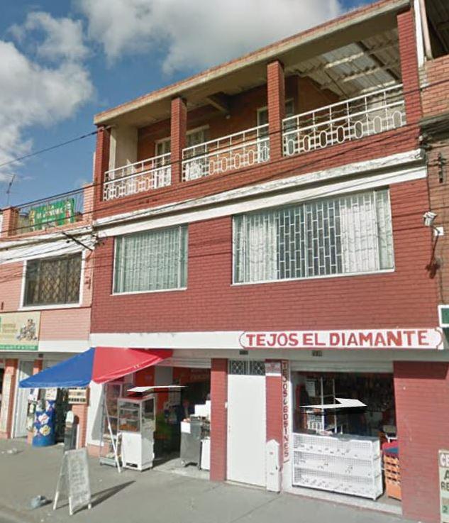 Casa que explotó en Bogotá