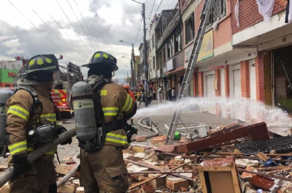 Explosión en Bogotá