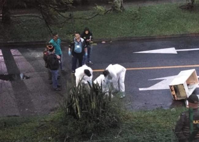 Asesinato en Bello, Antioquia
