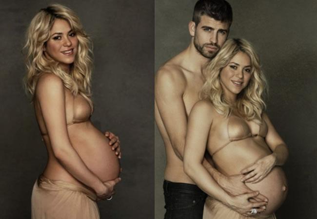 Shakira embarazada junto a Piqué (213)