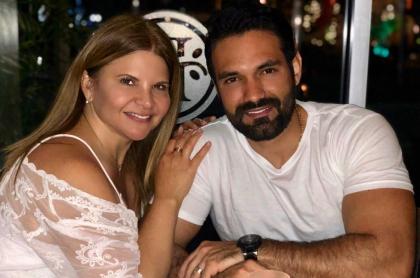 Diva Jessurum y Rafael Caparroso