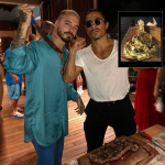 J Balvin y el chef Nusret