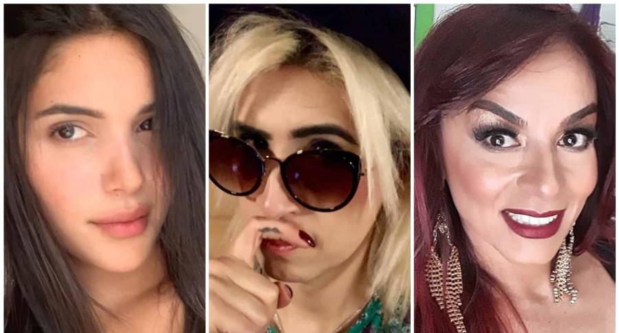 Mara Cifuentes, Ophelia Pastrana y Endry Cardeño