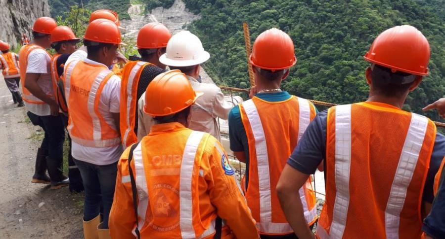Trabajadores de Hidroituango.