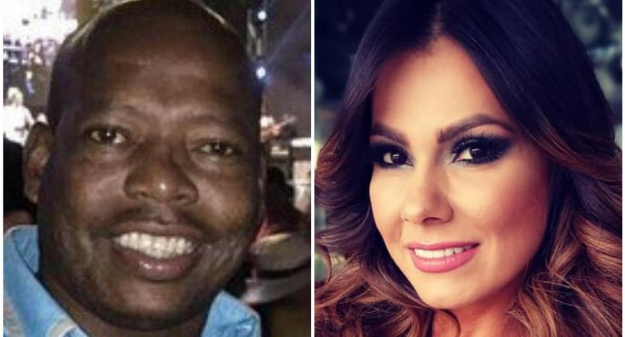 Tino Asprilla y Esperanza Gomez