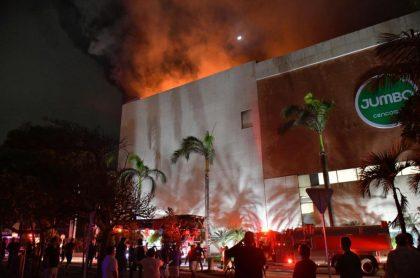 Incendio en Barranqulla.