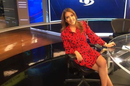 Juanita Gómez, presentadora.