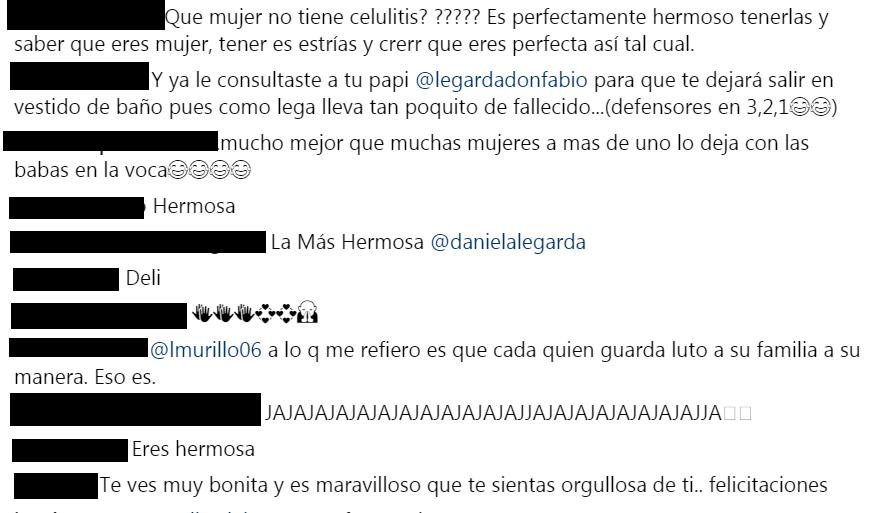 Comentarios a foto de Daniela Legarda