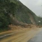 Deslizamientos en Vía al Llano