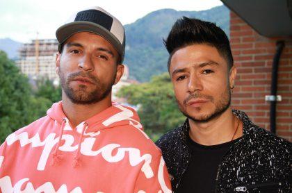 Pipe Calderón y Daniel Calderón