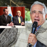 Jorge Fernando Perdomo, Eduardo Montealegre y Álvaro Uribe Vélez