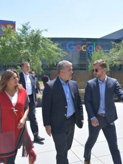 Duque en Silicon Valley