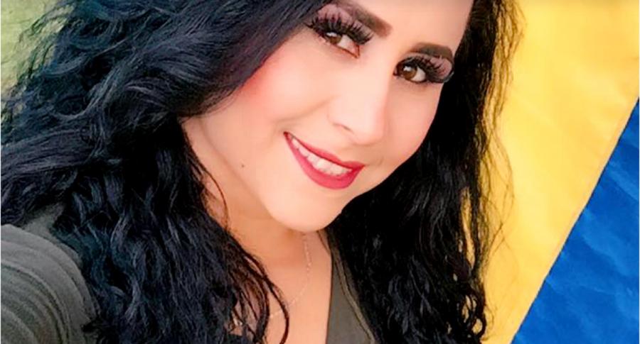 Acróbata Angélica Suárez