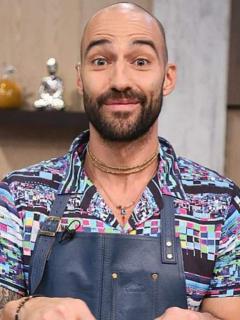 Leo Morán, chef.