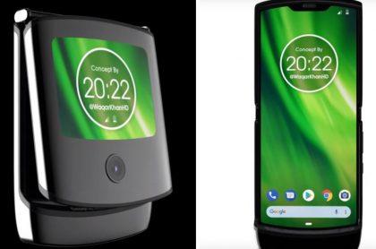 Prototipo de Motorola Razr