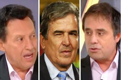Óscar Rentería, Jorge Luis Pinto y César Augusto Londoño