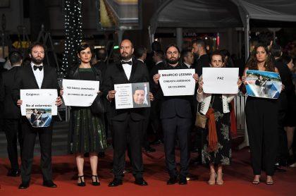 Directores y actores colombianos protestan en Festival de Cannes