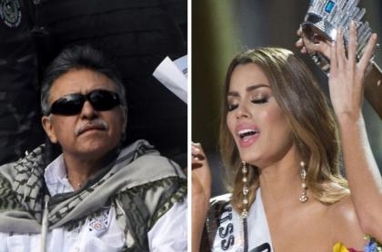 Jesús Santrich y Ariadna Gutiérrez