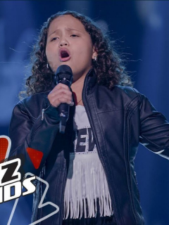 Anabelle, La voz kids