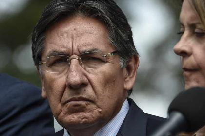 Néstor Humberto Martínez, exfiscal General de la Nación, y Marta Lucía Ramírez, vicepresidenta de la República.
