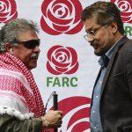 'Jesús Santrich' e 'Iván Márquez', exjefes guerrilleros de las Farc.