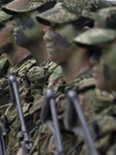 Soldado en formación