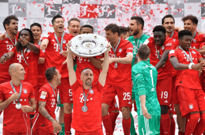 Bayern Múnich campeón Bundesliga.