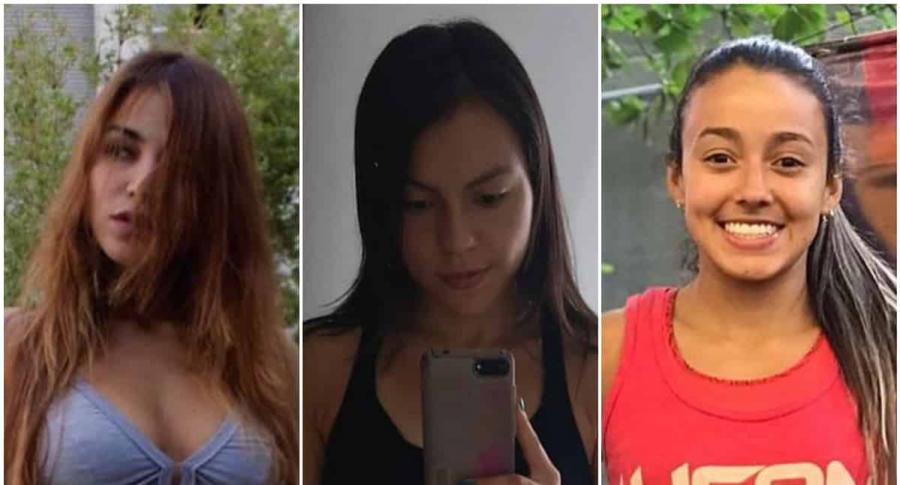 Juliana Ocampo, Camila Cartagena y Natalia Vargas