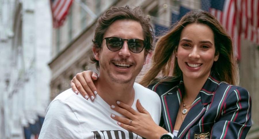 Alejandro Riaño y María Alejandra Manotas