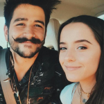 Camilo Echeverry y Evaluna Montaner, cantantes.