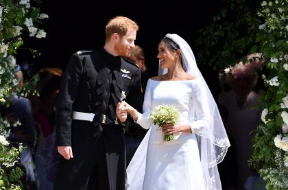 El príncipe Harry y su esposa, Meghan Markle, duques de Sussex.