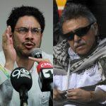 Iván Cepda y 'Jesús Santrich'