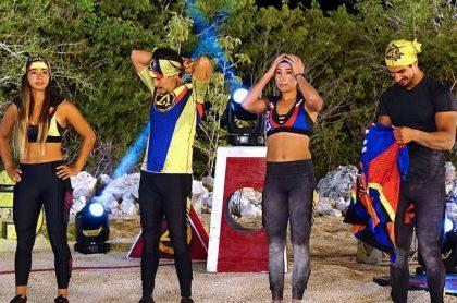 Alejandra Montoya, modelo; Sebastián Vega, actor; Daniela Henao, futbolista; y Juan David Aldana, modelo.