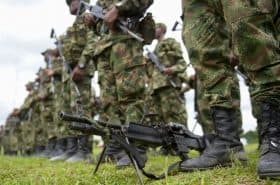 Uniformados del Ejército