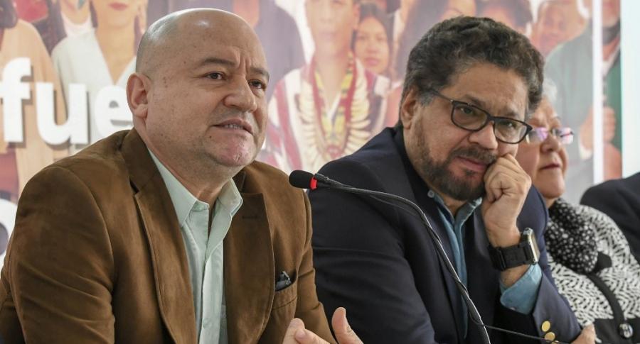 Carlos Antonio Lozada e Iván Márquez