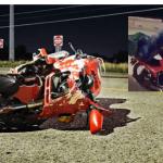 Accidente motocilista