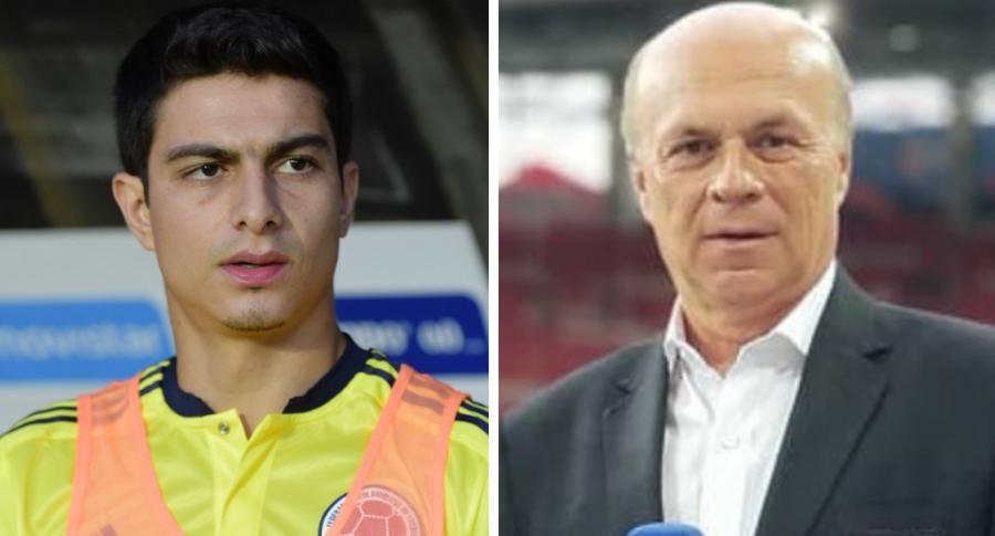 Stefan Medina y Carlos Antonio Vélez