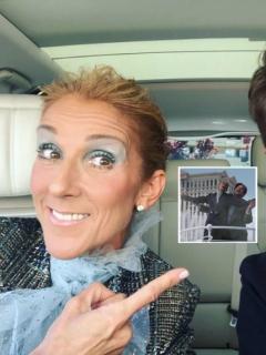 Céline Dion y James Corden