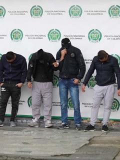 Capturados banda 'Los Paisanos'