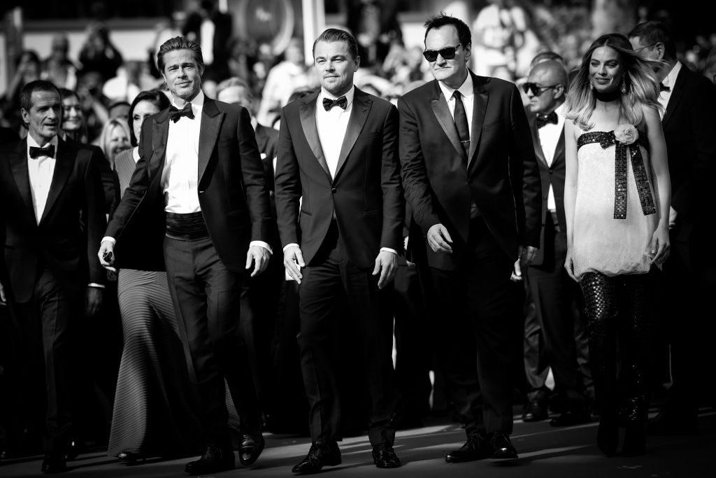 Brad Pitt, Leonardo DiCaprio, Quentin Tarantino y Margot Robbie-1150782570