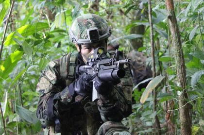 Soldado Ejército de Colombia