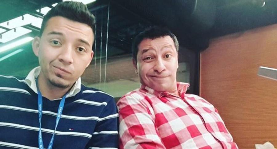 'Lokillo' y Camilo Cifuentes, humoristas.