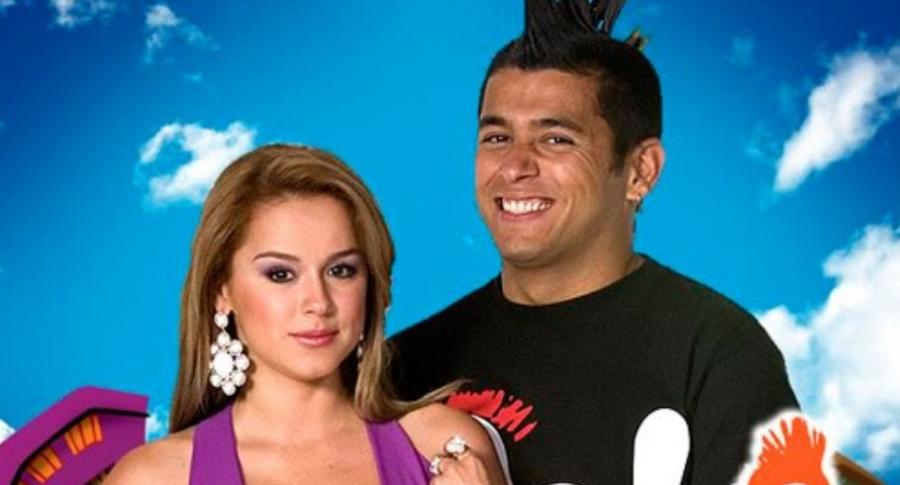 Heidy Bermúdez y Santiago Alarcón