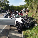 Accidente vía Guaduas-Villeta
