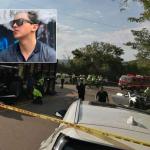 Accidente de Daniel Galvis Peña