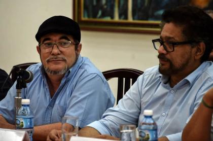 'Timochenko' e 'Iván Márquez'