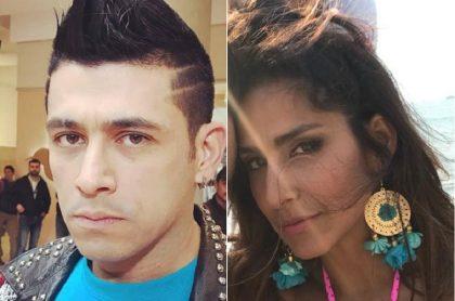 Santiago Alarcón y Aida Bossa, actores.