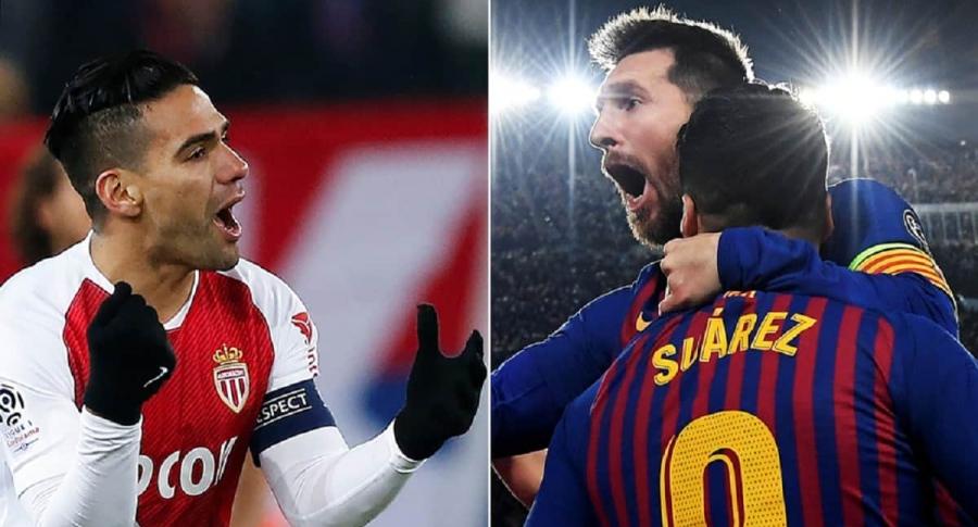 Falcao y Messi