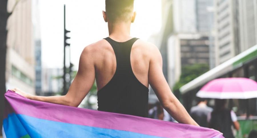 Hombre gay.