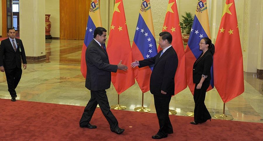 Maduro en China